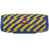 Cumpara ieftin Boxa Portabila JBL Charge 3, Bluetooth, Waterproof, Albastru-Galben