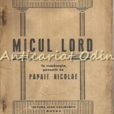 Micul Lord - Frances H. Burnett