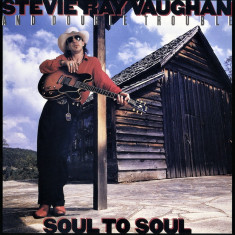 Stevie Ray Vaughan Double Trouble Soul To Soul remastered (cd)