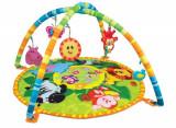 Saltea cu arcade activitati bebe Winfun Animalele Junglei