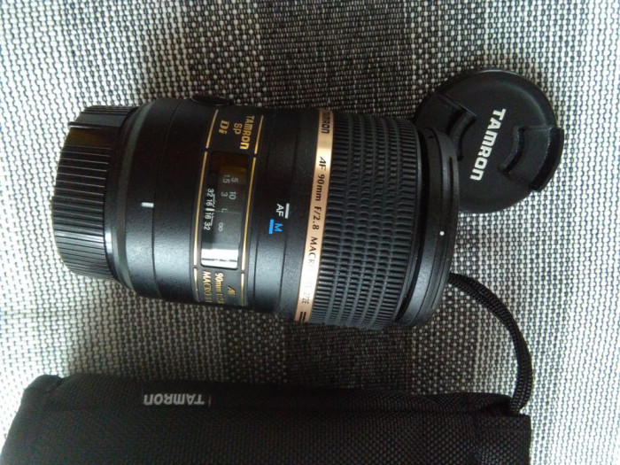 obiectiv Tamron SP AF 90mm f/2.8 Di Macro 1:1 (Nikon)