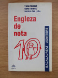 Cumpara ieftin ENGLEZA DE NOTA 10-BACALAUREAT ADMITERE-T MUSINA-M ARHIRE-M LUCA-R5C