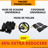 Pachet Promotional Huse Scaune & Husa Volan & Covorase PP10