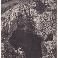 #Z.2295- Romania, Vaskoh, Vascau c.p. circulata 1905: Intrarea in pestera, Fotografie