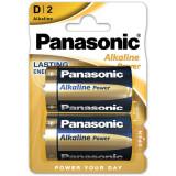 Baterii Panasonic Alkaline Power Bronze LR20/D 2 bucati