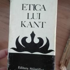 Etica lui Kant – Niculae Bellu