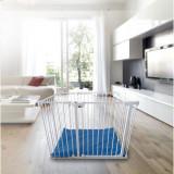 Tarc de joaca modular cu saltea Noma metal alb N94221