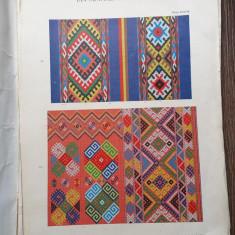 Dimitrie Comsa Album de broderii si țesături romanesti