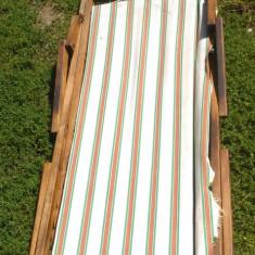 Sezlong vechi din lemn anii '40-'50