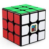 Cub Rubik Moyu MF3RS MoFang JiaoShi 3x3x3, 56mm, Negru, 4-6 ani