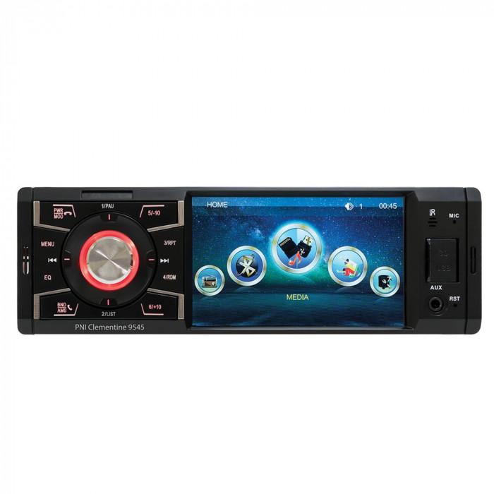 Casetofon Auto MP3 player auto PNI Clementine 9545 4x50w 1DIN cu Stick SD USB AUX RCA Bluetooth