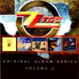 ZZ Top Original Album Series 2 Boxset (5cd)