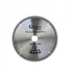 Disc circular pentru aluminiu, cupru, Geko G78102, G250x100Tx32 mm