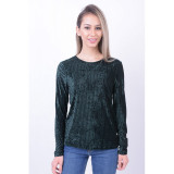 Bluza Pieces Love Verde Inchis, L, M, S, XL, XS