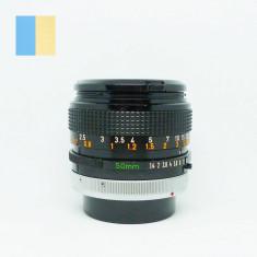 Obiectiv Canon 50mm f/1.4 S.S.C. montura Canon FD