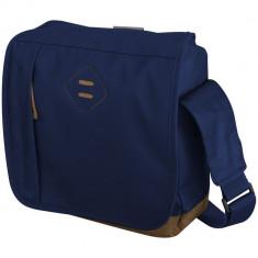 Geanta mica de Postas, Everestus, CR, 600D poliester, albastru, saculet de calatorie si eticheta bagaj incluse