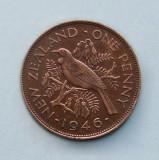 NOUA  ZEELANDA  -  1 Penny 1946  -  George VI