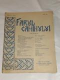 REVISTA FARUL CAMINULUI Anul V - Nr.9, MAI 1938