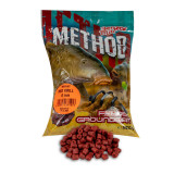 Pelete Benzar Mix Method, Red Krill, 800g (Marime: 4 mm)