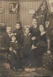 Ioan Catanoiu zugrav Braila cu familia perioada interbelica