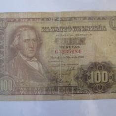 Rara! Spania 100 Pesetas 1948