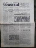 Ziarul Sportul din 30 august 1977