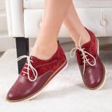Pantofi Linox rosii casual