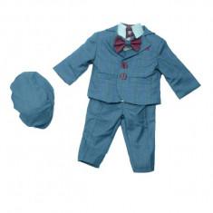 Costum elegant pentru baieti Colibri 2037-G, Gri