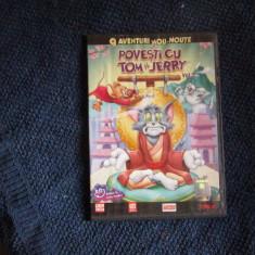 dvd povesti cu tom si jerry