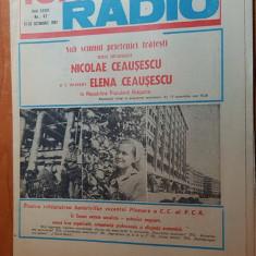 revista tele-radio saptamana 17-23 octombrie 1982