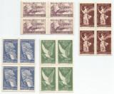 România, LP 208/1947, Pacea, bloc de 4, eroare, MNH