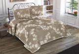 Patura de pat Valentini Bianco din acril, model Nelly Brown