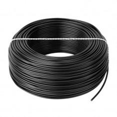 Cablu Conductor Cupru H05V-K 1X0.75, Rola 100 m, Negru