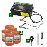 Pachet Gard Electric 2,5J putere + 5000m Fir 90Kg
