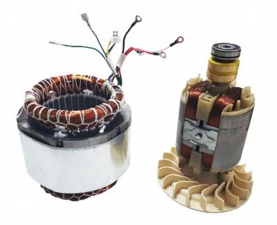 Stator si Rotor generator 2 - 5 kw (Gx 160, 168F etc) Cupru (Trifazic) foto