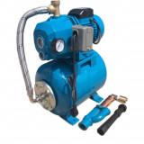 Hidrofor de mare putere Elefant Aquatic AUTODP255, 1150 W, 50 l/min, rezervor 24 l, inox-otel+Cadou cizme pvc 37-44 marimi la alegere