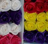 Set 50 trandafiri de săpun marime medie, culori combinate | arhiva Okazii.ro
