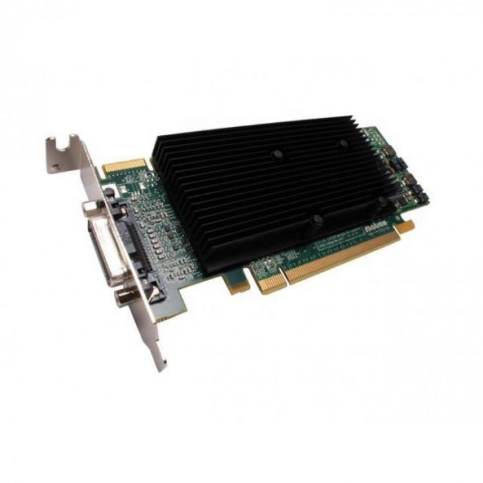 Placa video Matrox M9120-E512LPUF, 512MB GDDR2, 64 Bit, Low Profile + Cablu DMS-59 cu doua iesiri VGA