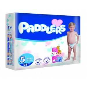 208 Buc Scutece Paddlers, -35%, Junior, 11-25kg, 24-36 luni, Marime 5