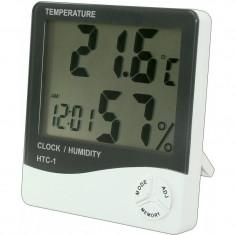 Statie meteo Ceas cu termometru si higrometru
