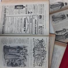 Reviste moda colecție 1888, 1890, 1891, 1892, 1893 - 3050 pag. - Mode pour tous