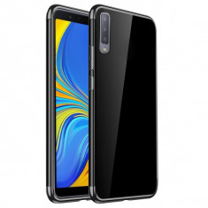 Husa SAMSUNG Galaxy A7 2018 - Plating Soft (Negru)