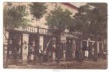 5166 - JIMBOLIA, Timis, street stores, Romania - old postcard - used - 1910