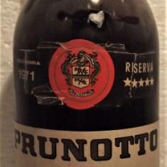 A54 - VIN RISERVA BARBERA, PRUNOTTO, VIN D'ORIGINE, recoltare 1971 cl 72 gr 13