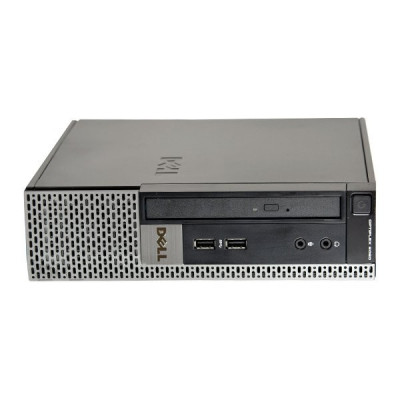 Calculator Dell Optiplex 9020 Desktop USFF, Intel Core i7 Gen 4 4770S 3.1 GHz, 8 GB DDR3, 256 GB SSD NOU, DVDRW foto