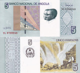 ANGOLA 5 kwanzas 2012 UNC!!!