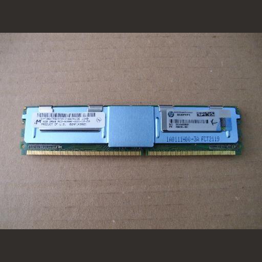 Memorie server HP 4GB DDR2 2Rx4 PC2-5300F-555-11-E0 466436-061 398708-001 ATENTIE! NU MERGE PE PC !