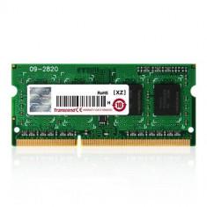 Memorie laptop Transcend 4GB (1x4GB) DDR3L 1600MHz CL11 1.35V