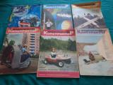 LOT 110 REVISTE MODELISM RUSEȘTI/ DIFERITE NUMERE * ANII 1973-1988