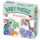 Set 6 puzzle-uri Baby Puzzle Dinozauri, D-Toys